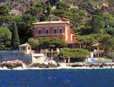 Villa Isoletta | Èze-sur-Mer, Alpes-Maritimes, France. The Cote d'Azur villa renovated by Mrs. Alva Belmont.