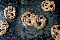 tips from a pastry chef on making better chocolate chip cookies © 2012 Sarah Jane Sanders
