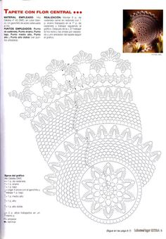 naperon - Eili Einama - Álbuns da web do Picasa Crochet Pillow Pattern, Crochet Diagram, Filet Crochet, Thread Crochet, Crochet Doilies, Crochet Hats, Crochet Ideas, Solange, Deco