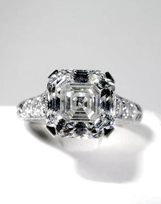 comeback why rings diamond engagement making asscher a royal are