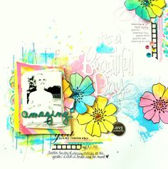 Shimmerz DT Project - using Coloringz, Dazzlerz, Vibez and Spritz; Stamps-Jillibean Soup, Flair-A Flair For Buttons