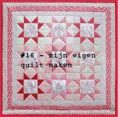 #16 - een eigen quilt maken
