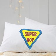 Personalised 'Superman' Pillow Case by A Piece Of, the perfect gift for Explore more unique gifts in our curated marketplace. Unique Gifts, Great Gifts, Personalized Pillow Cases, Pillowcase Pattern, Sewing Pillows, Make Your Own, How To Make, Organization Hacks, Getting Organized