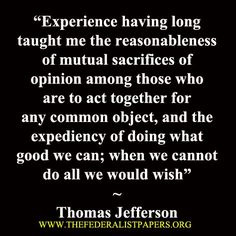 Thomas Jefferson Quote, letter to John Randolph, December 1, 1803
