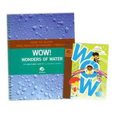 BROWNIE WOW! WONDERS OF WATER & ADULT GUIDE JOURNEY BOOK SET $11.25 #67711 How-To-Guide Journey Book Set. Each companion guide for adult volunteers offers key information about the journey, its awards, and its leadership benefits, along with step-by-step sample plans for sessions with the girls.