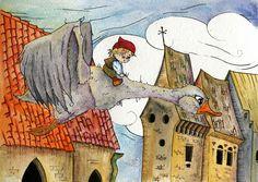 Von Tetiana Kosovska: Nils Holgerson