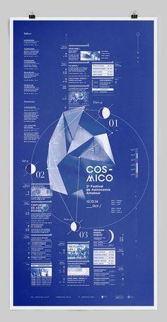 Cósmico_ by Clara Fernández, via Behance: