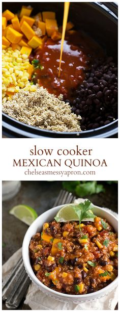 (Slow Cooker) Mexican Quinoa