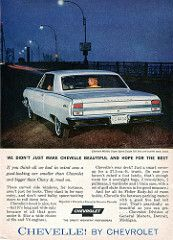 1964 Chevrolet Chevelle Advertising Readers Digest April 1964 | by SenseiAlan