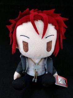 K Project Anime Plush Doll Figure official Taito Mikoto Suoh #Taito