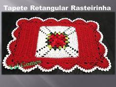 Crochet Crafts, Free Crochet, Crochet Table Mat, Crochet Videos, Crochet Squares, Crochet Flowers, Doilies, Crafts For Kids, Fancy