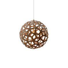 253€ David Trubridge - Coral Light Caramel - 40cm