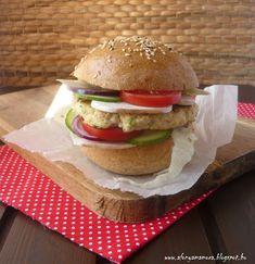 Az áfonya mámora: Csirkeburger