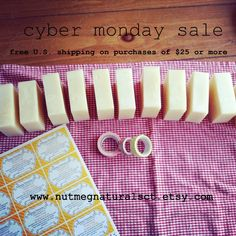Use coupon code SHOPHANDMADE to receive free U.S. Shipping on orders of $25 or more. #cybermonday
