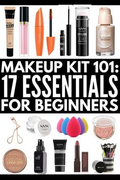 makeup For Beginners mascara - Build Your Own Makeup Kit for Beginners: 17 Must Have Makeup Products Makeup Essentials For Beginners, Makeup Kit Essentials, Makeup For Beginners, Beginner Makeup Kit, Make Up Kits, Eyeshadow Basics, Best Eyeshadow, Make Up Dupes, Bobbi Brown