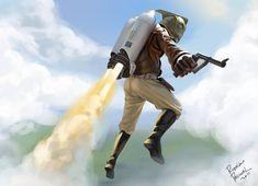 Rocketeer by ~superpascoal on deviantART