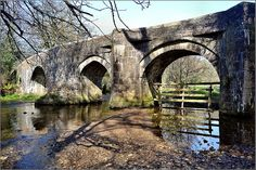 Respryn Bridge is a five arched medieval bridge of granite and stone rubble construction, spanning the River Fowey near to Lanhydrock House. Some parts of the bridge date back to the fifteenth century and replace an earlier thirteenth century bridge.