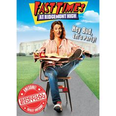 Fast Times At Ridgemont High On VHS. Academy Award winner Sean Penn leads an all-star cast in this hilarious portrayal of a group of high school students and their most important subjects: sex, drugs 80s Movies, Comedy Movies, Great Movies, Movies To Watch, Movie Tv, Funny Films, Awesome Movies, Iconic Movies, Sean Penn
