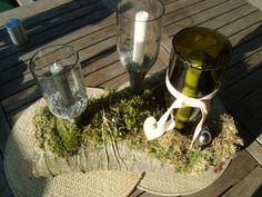 Mit dieser Upcycling Idee kann man laue Sommerabende noch mehr genießen. Schönes Licht mit alten Flaschen - OBI Selbstgemacht! Blog. Selbstbauanleitung für jedermann.