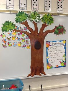 Cute owl theme and mixing up the traditional color/stoplight behavior management system. Each student has an owl on the branch - can move up to different branches for positive behavior or down branches for warnings. Classroom Behavior Chart, Kindergarten Behavior, Kindergarten Classroom Management, Owl Classroom, Classroom Decor Themes, Classroom Setting, Kindergarten Activities, Future Classroom, Classroom Organization