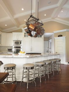 Lovely Kitchen with Vaulted Ceiling Pictures
