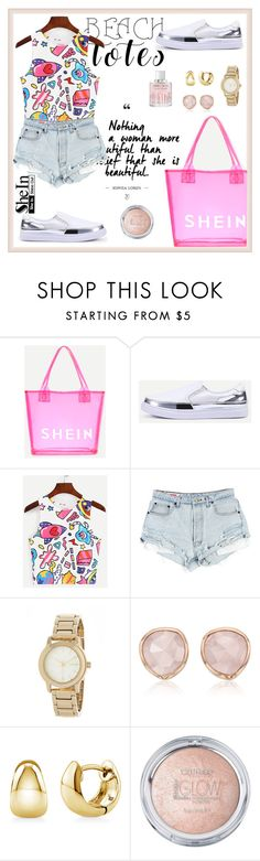 """""""Shein 7"""" by amra-f ❤ liked on Polyvore featuring DKNY, Monica Vinader, BERRICLE and Jimmy Choo"""