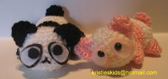 Crystal Panda: Free Panda Amigurumi Crochet Patterns