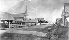 Mulgrave Street, Thorndon, Wellington, circa Old St Pauls is on the left. Photograph taken by William James Harding. Williams James, Old Photos, New Zealand, Street View, History, Old Pictures, Antique Photos, Vintage Photos, Historia