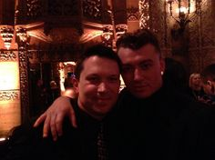 21.Jan 26, LA:  A quick snap with Sam Smith at the UMG Grammy party