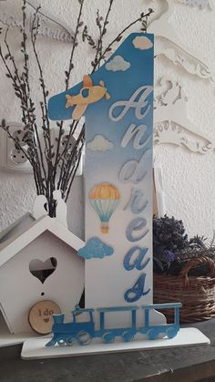 Anniversary Number - Personalized Kids decorations; anniversary gift Numar Aniversar Personalizat - cadou nume copil