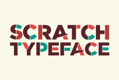 Scratch Free Font  #freefonts2014 #topfreefonts #bestfreefonts #popularfreefonts