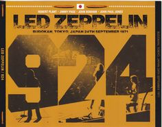 Led Zeppelin - 924 (3CD) - Live at Budokan, Tokyo, Japan 24th September 1971
