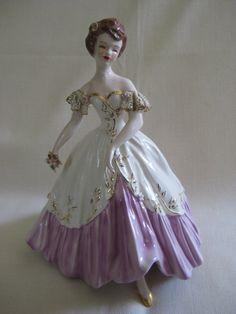 Vintage Florence Ceramics RARE Carol Figurine by VintageByThePound, $125.00