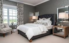 Image result for dark grey bedroom