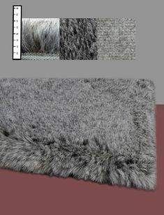 IXI Eros Faux Flokati Grey Rug & Reviews | Wayfair