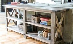 great free building project plans- love the tables