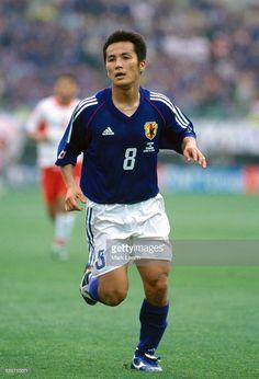 18 June 2002 FIFA World Cup, Turkey v Japan, Hiroaki Morishima of Japan.