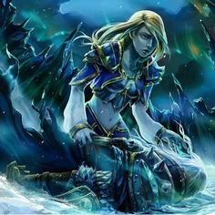This makes me cry so much :( Arthas and Jaina