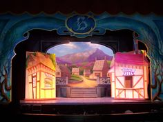 beauty and the beast village set - Google Search