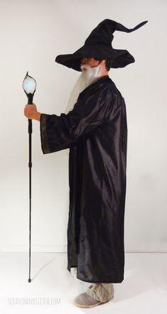 DIY Wizard Costume Tutorial by scratchandstitch.com