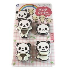 PANDA Cookie Cutter Set