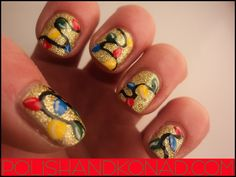 All Things Beauty, Fashion, and Hair: Countdown to Christmas: My Favorite Winter Nail Designs