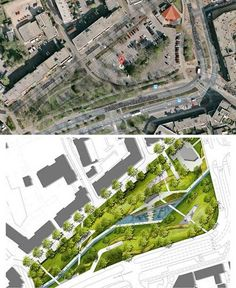Car Park Turns into Public Park! - http://landarchs.com/car-park-turns-public-park/