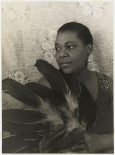Bessie Smith was the most influential blues singer in history and the first major feminist voice in American music. Photo by Carl Van Vechten,1936, Bessie Smith (1894-1937).