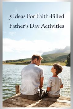 Great article if you are looking for ways to encourage your dad on Father's Day!