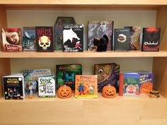Our Halloween display in our lobby. #books #halloween #kidlit