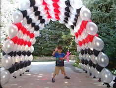 Balloon Arch but different colors