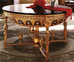 The luxurious versace vanitas chair gianni versace the late and chairs - Lavish antique dining room furniture emphasizing classic elegance and luxury ...