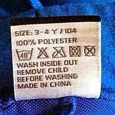 Chinese laundry blues