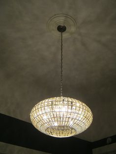 Crystorama chandelier for kitchen